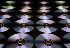 Disco multi Foto de archivo libre de regalías