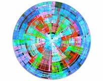 Disco multicolor Foto de archivo libre de regalías