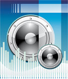 Disco Music Background Royalty Free Stock Image