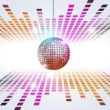Disco Music Background Royalty Free Stock Photos