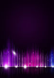 Disco Music Background Stock Image