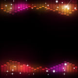 Disco Music Equalizer Party Background Royalty Free Stock Photography