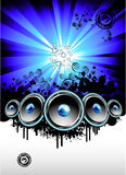 Disco Music Event Background stock image