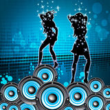 Disco Music Shows Sound Party And Melody Royalty Free Stock Image