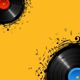 Disco musical stock de ilustración