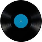 Disco nero dell'album del lp del vinile, disco isolato del gioco lungo Fotografia Stock Libera da Diritti