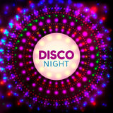 Disco night banner2 Stock Image