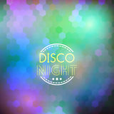 Disco nigth abstract background Stock Photos