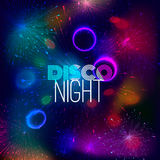 Disco nigth abstract background Stock Image
