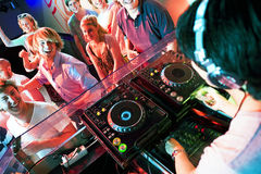Disco party Stock Photos