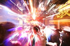 Disco-Party stockbild
