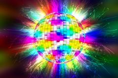 Disco Party Stock Photography