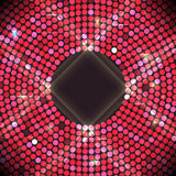 Disco party background. Ball, nightclub and nightlife, bright and shine sphere, vector Royalty Free Stock Images