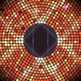 Disco party background. Ball, nightclub and nightlife, bright and shine sphere, vector Royalty Free Stock Photo
