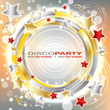 Disco party background Royalty Free Stock Photography