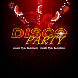 Disco party background Stock Image