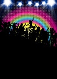 Disco Party Background Royalty Free Stock Photo