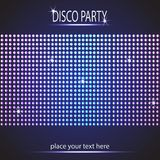 Disco party background. Space for your text Stock Photos