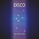 Disco party background. Space for your text Royalty Free Stock Photo