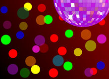 Disco / Party Background (vector) Royalty Free Stock Photo