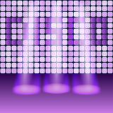 Disco party background. Vector illustration. eps 10 Royalty Free Stock Photo