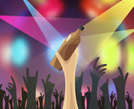 Disco party concert Royalty Free Stock Images