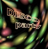 Disco Party Cover Stock Image