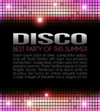 Disco Party Design Royalty Free Stock Photos