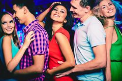 Disco party Royalty Free Stock Image