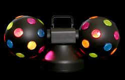 Disco party lights Stock Image