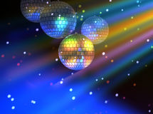 Disco party lights background Royalty Free Stock Image