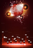 Disco Party Music Background Royalty Free Stock Photo
