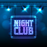 Disco party night club Royalty Free Stock Photo