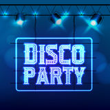 Disco party night club Royalty Free Stock Images