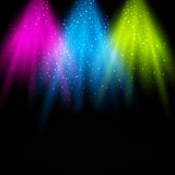Disco Party Poster Background Template Stock Photo