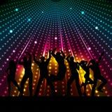 Disco people stock illustration