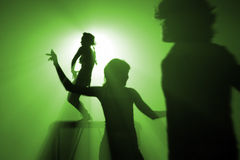 Disco people stock photography