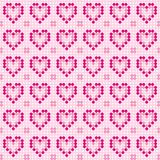 Disco pink pattern Royalty Free Stock Photos