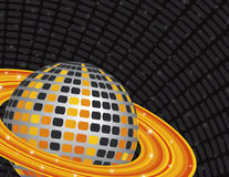 Disco Planet vector illustration