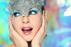 Disco Queen Royalty Free Stock Images