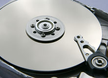 Disco rígido del ordenador. Foto de archivo libre de regalías