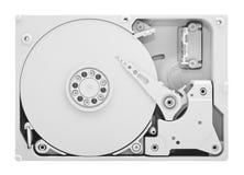 Disco rígido do computador com trajeto de grampeamento Foto de Stock
