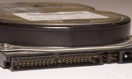 Disco rígido do PC com os pinos curvados do IDE Imagens de Stock