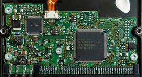 Disco rígido eletrônico da placa. Imagens de Stock