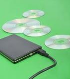 Disco rígido móvel Fotos de Stock Royalty Free