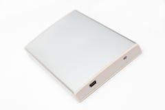 Disco rígido portátil externo Fotografia de Stock Royalty Free