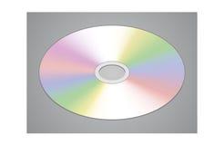 Disco realistico di DVD o del CD Immagine Stock Libera da Diritti