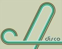 Disco retro background royalty free illustration
