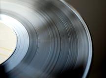 Disco retro del vinilo Imágenes de archivo libres de regalías