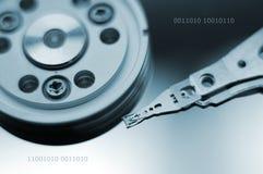 Disco rigido Fotografia Stock Libera da Diritti